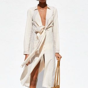 Zara spring 2019 Shirt Dress